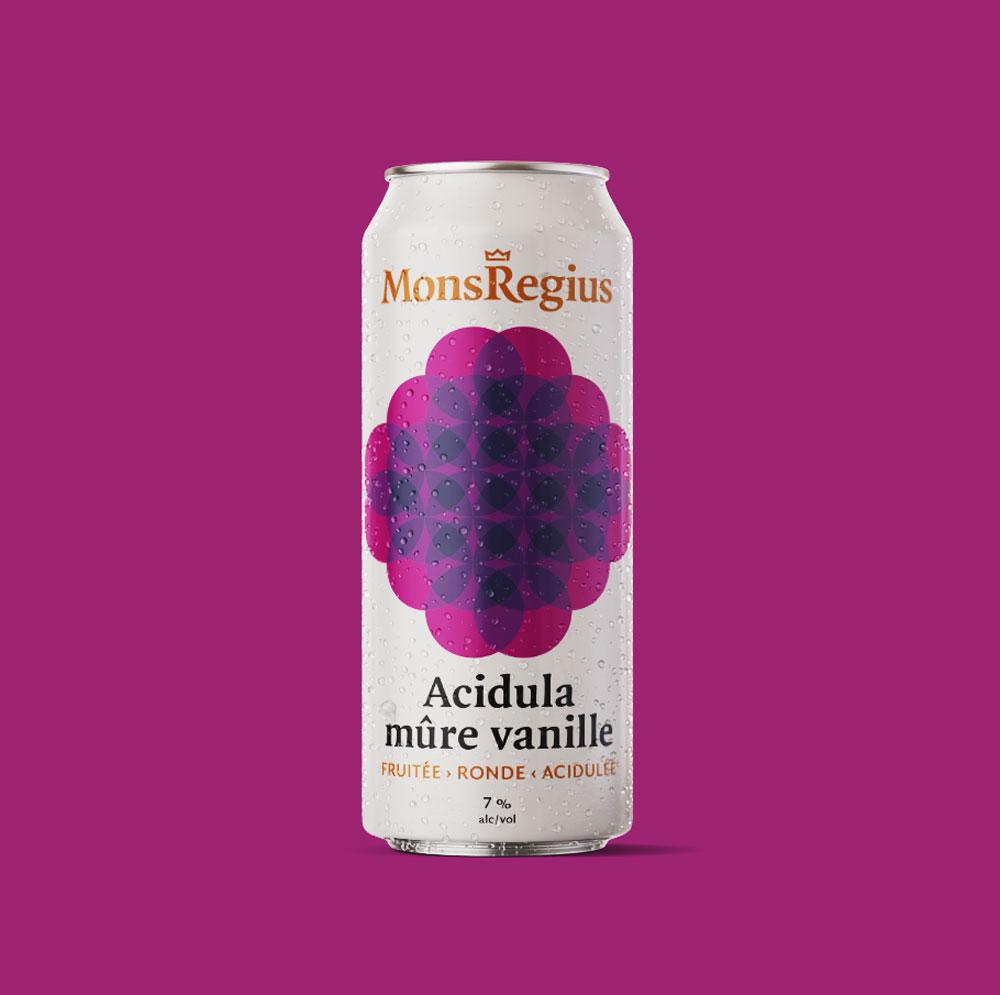 Acidula mûre vanille